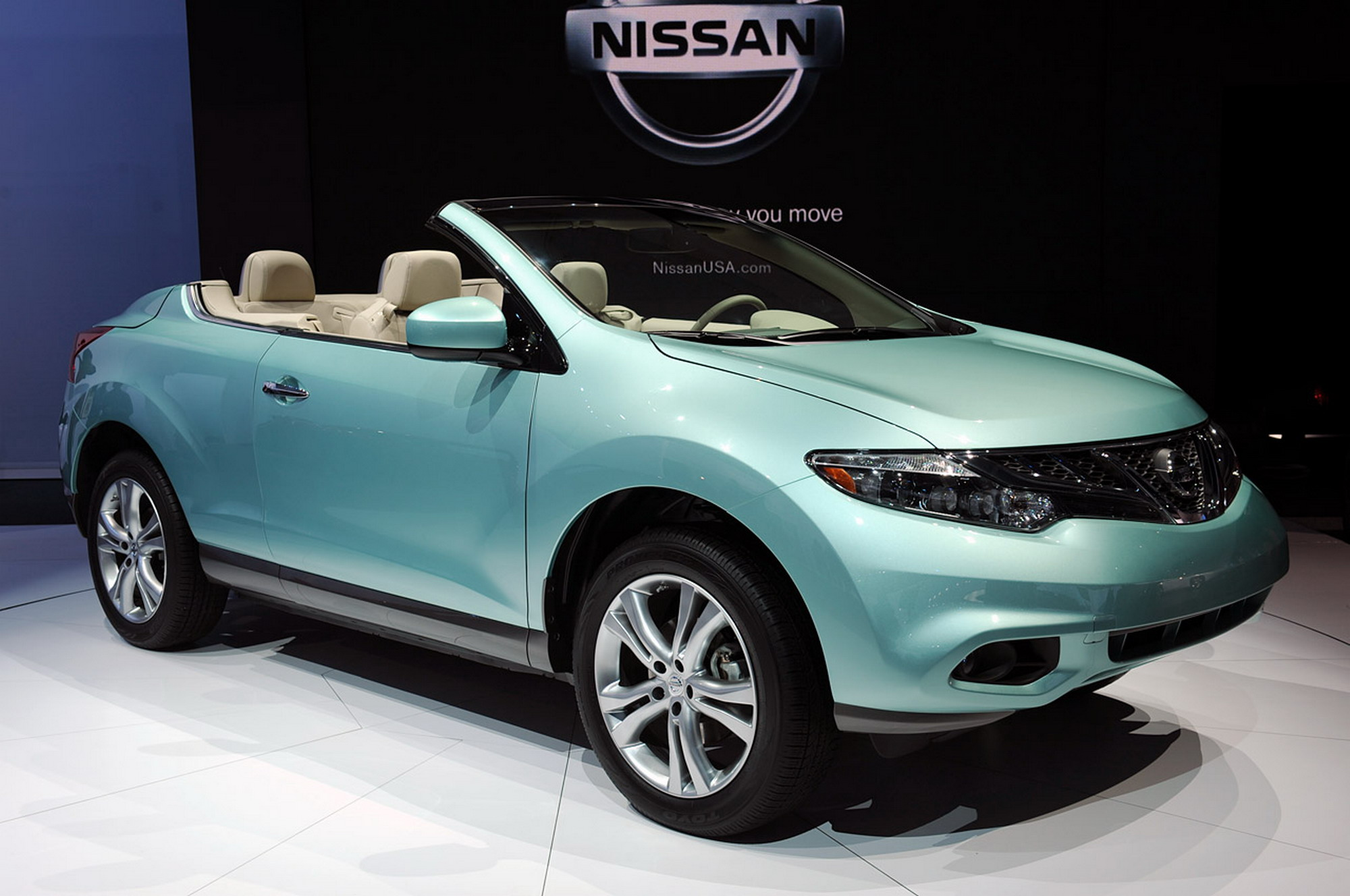 The All New 2011 Nissan Murano Crosscabriolet Has Arrived